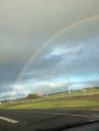 A perfect rainbow