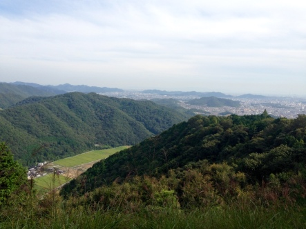 Looking out over Himeji